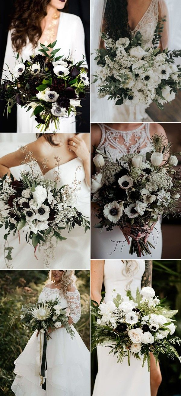 Pin By Emma Loves Weddings On Hale Powers Wedding In 2020 White Wedding Flowers White Wedding Theme Black And White Wedding Theme