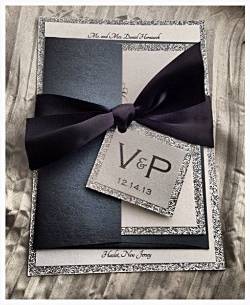 Hey, I found this really awesome Etsy listing at https://www.etsy.com/listing/195507116/wedding-invitations-black-tie-wedding