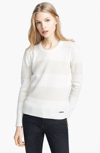 Burberry Brit Striped Cashmere Sweater | Nordstrom