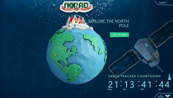 With Help from Microsoft, NORAD Launches Improved Santa Tracker Site By JOANNA STERN | Good Morning America