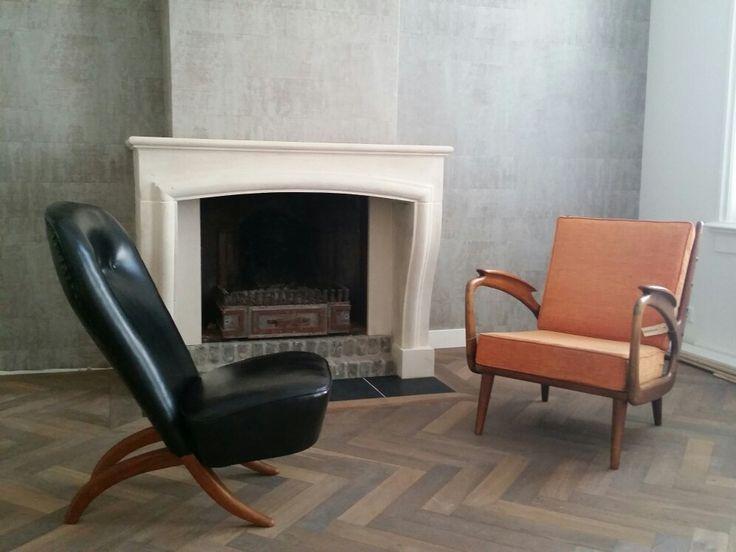 Just delivered in Eindhoven...unieke mid century design lounge chairs www.bestwelhip.nl