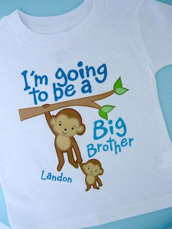 I'm Going to Be A Big Brother Shirt Big by ThingsVerySpecial, $13.99