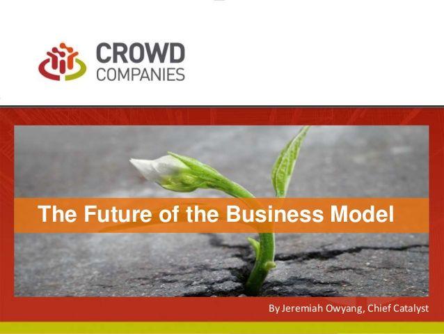 The Future of Business Models #FutureOf