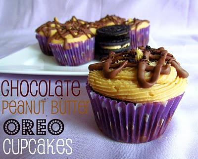 Peanut Butter Oreo Cupcakes | Recipe | Peanut Butter Oreos, Oreo ...