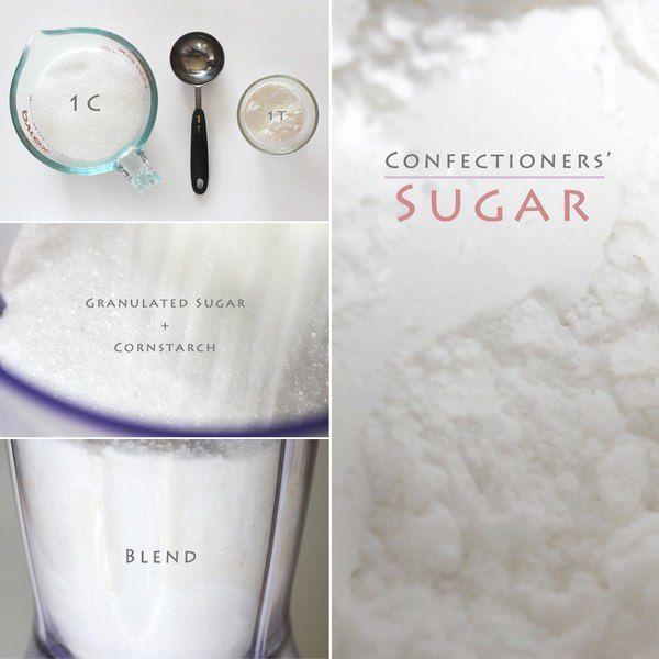 Homemade Icing Sugar – How to Make Confectioners' Sugar Recipe