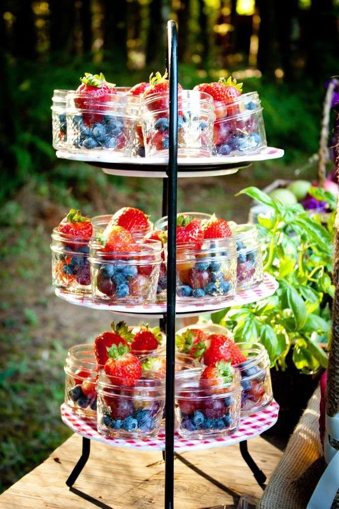 Tea Party Healthy Dessert Idea