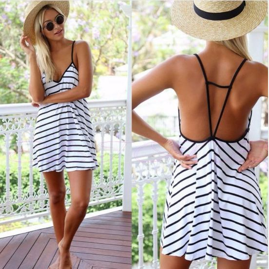 [New] Fashionable 2017 Summer Mini Dress You Need in Your Closet  bereal.co