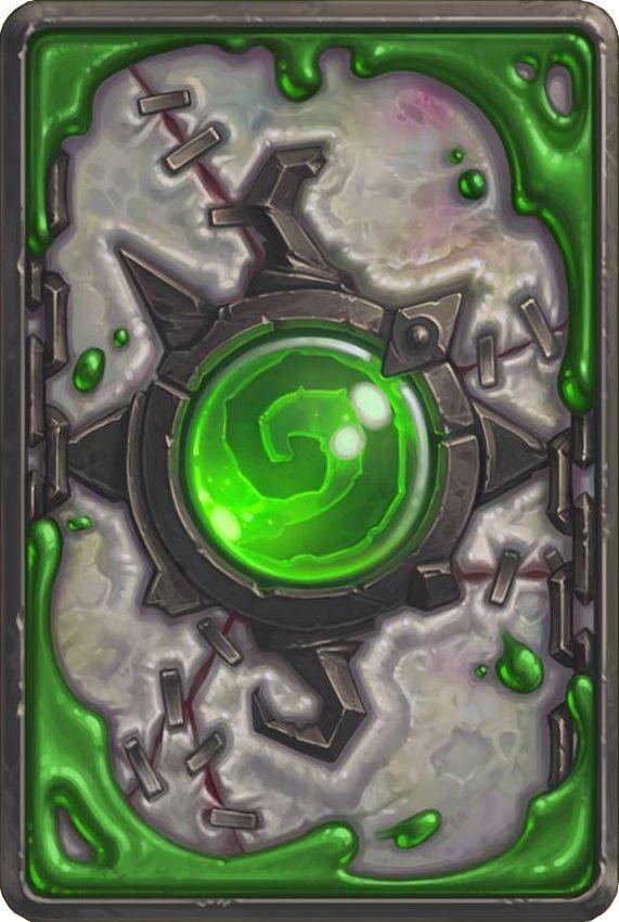 Card Back: Heroic Naxxramas Artist: Blizzard Entertainment