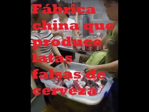 Ultimas Noticias Del Mundo: Fábrica china que produce latas falsas de cerveza ...