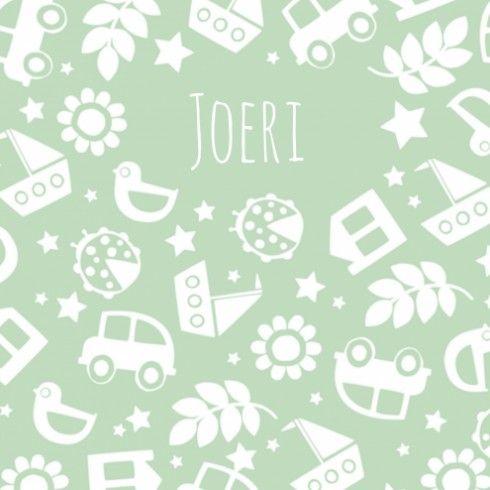 Geboortekaartje - Joeri