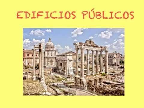 Construcciones Romanas - Vídeo alojado en youtube, creado para el curso Flipped Classroom