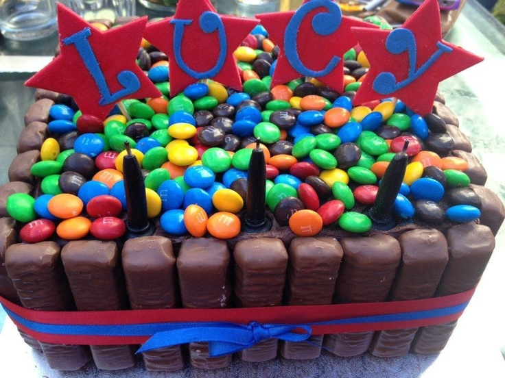 Best Cakes Images On Pinterest Biscuits Desserts And Castle - M and ms birthday cake