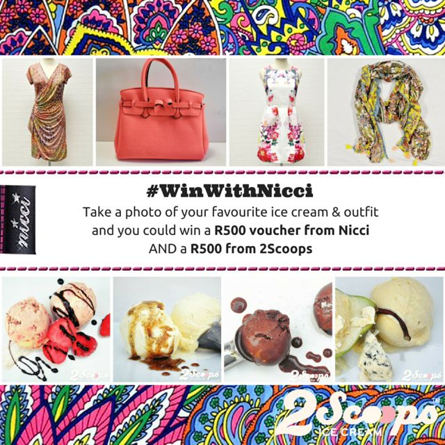 2 Scoops and #NicciSummer15 Launch competition #win