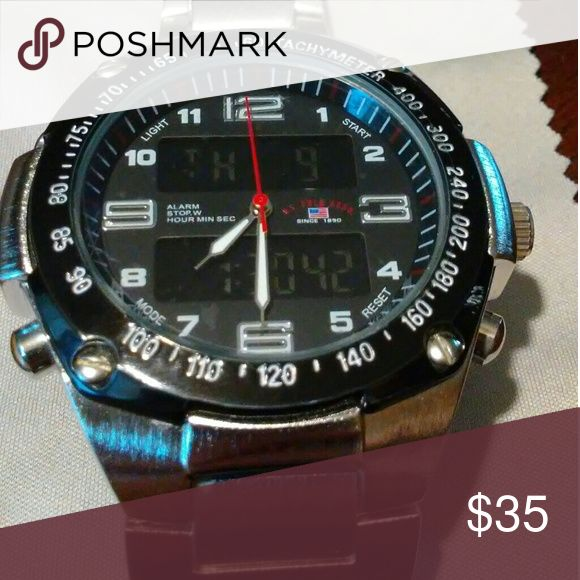 Mens polo watch New mens polo watch worn twice Ralph Lauren Accessories Watches