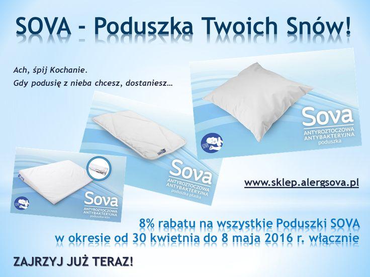 Z okazji Światowego Dnia Astmy, który w tym roku przypada 3 maja mamy dla Was specjalna promocję. Wejdźcie na www.sklep.alergsova.pl i zaprzyjaźnijcie się w Sovą - Poduszką Waszych Snów. Serdecznie zapraszamy! #astma #alergia #roztocza #atopowe #worldasthmaday