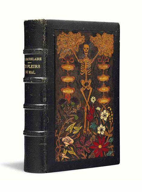 For the love of Books... Les fleurs du mal ( The Flowers of Evil ) by Charles Baudelaire, Paris, Michel Lévy frères, 1868–69.