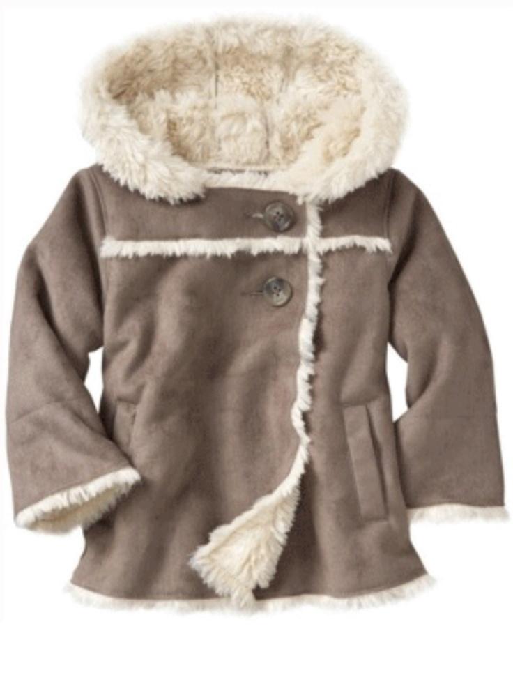 Gap Kids Shearling Coat