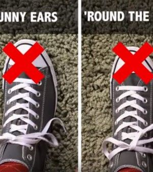 You've Been Tying Your Shoe Laces Wrong, Apparently - Kids Safety Network