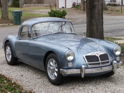 MGA  Coupe 1960 years of begging my cousin for his he still won't sell it to me