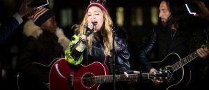 Madonna  – Concert acoustique à New York