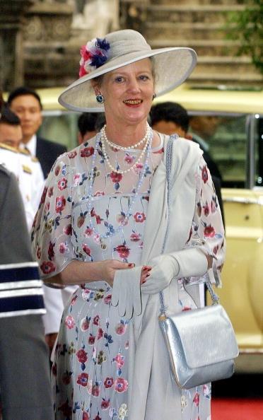 Queen Margrethe, February 8, 2001