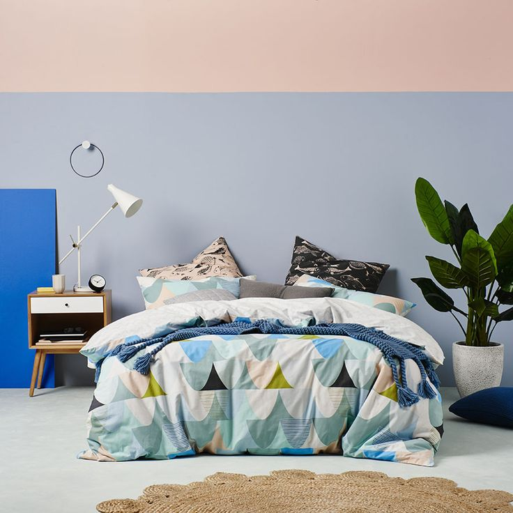 Home Republic Minnow Quilt Cover Set Bedroom Covers Coverlets Adairs Online