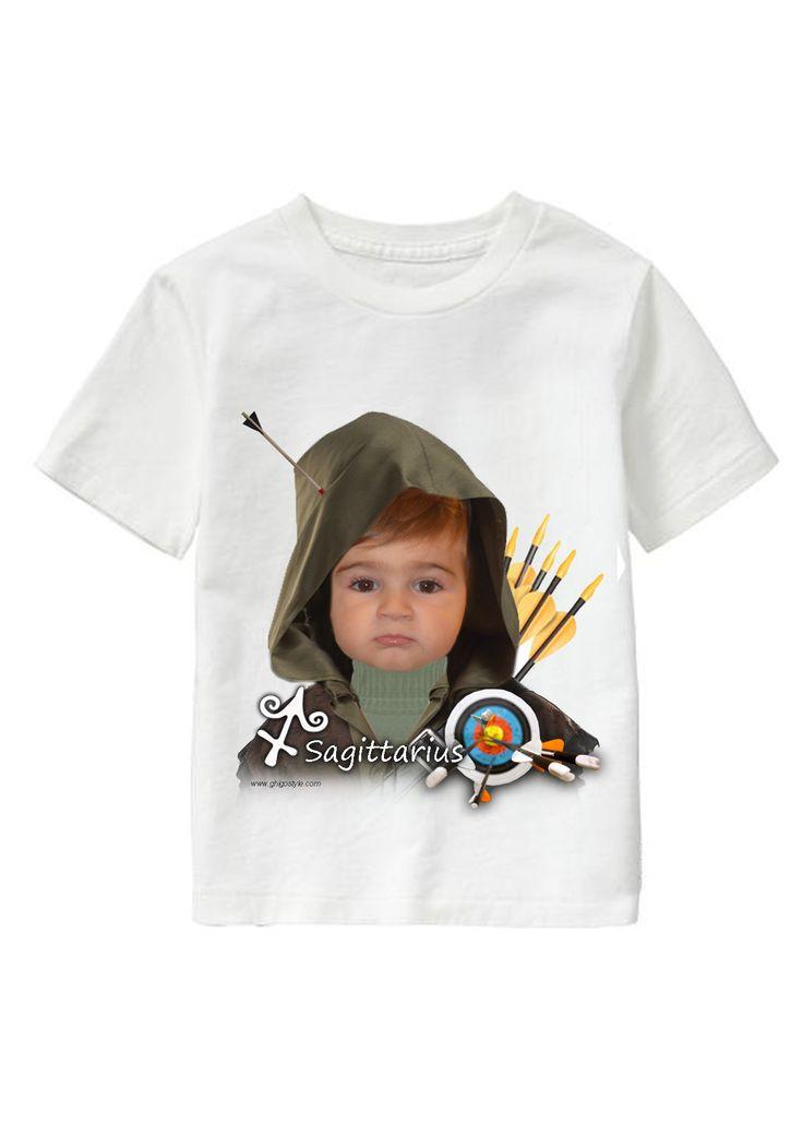 Sagittario Boy personalized T-shirt www.ghigostyle.com