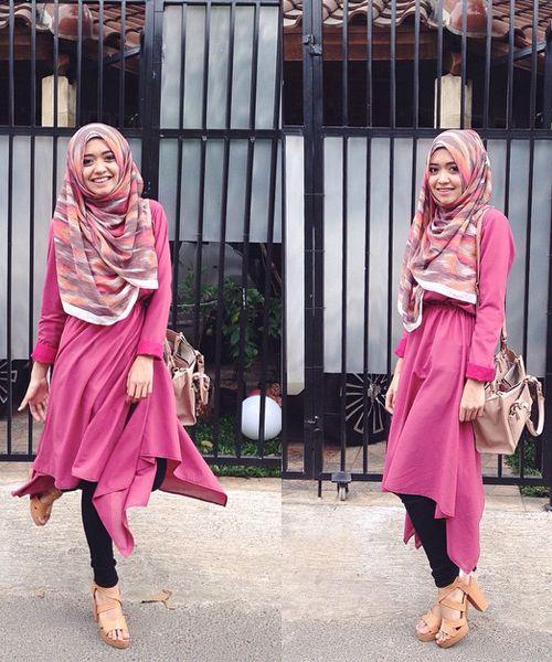 hijab style, fashion hijab, hijabista, hijabi fashionista, hijabers, hijab outfit, hijab ootd, hootd, hotd, hijab chic, chic hijab,padu padan hijab dengan rok maksi, padu padan hijab dengan sweater abu abu, padu padan hijab simple, padu padan hijab kasual, padu padan hijab  stylish, padu padan hijab dengan celana hitam, padu padan hijab dengan tunic pink, padu padan hijab dengan tunik pink, padu padan hijab dengan baju pink, padu padan hijab dengan baju warna pink tua,