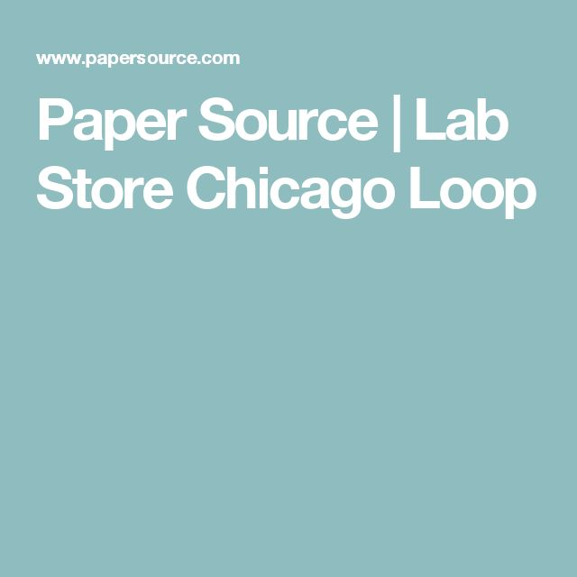 Paper Source | Lab Store Chicago Loop