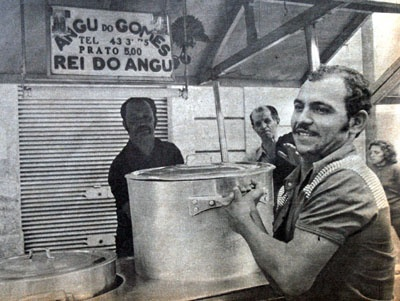 Cozinhando com amigos: Angu do Gomes - Um sarapatel bem carioca