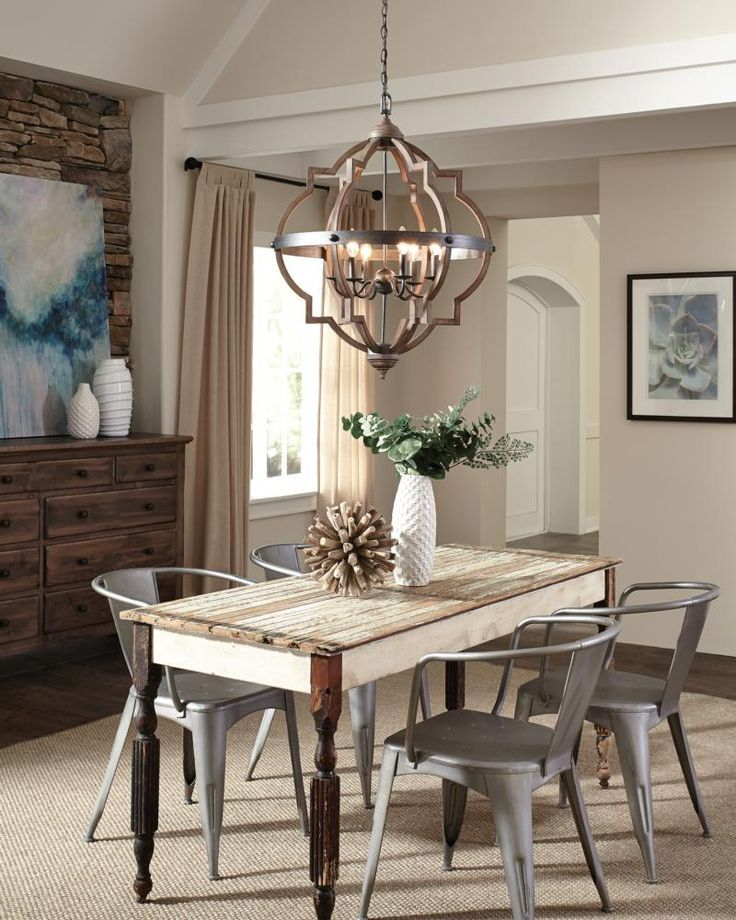 Image Result For Entry Hall Lighting Farmhouse Dining Room Lighting Rustic Dining Room Lighting Dining Room Light Fixtures