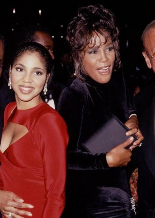 Toni Braxton and Whitney Houston