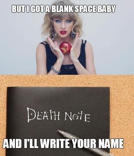 Não assisto Death Note, mas achei isso muito engraçado XD