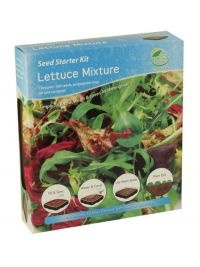£1.00  - G PLANTS SEED STARTER KIT LETTUCE MIXTURE  Simply fill and sow, water and cover, let them grow!  Sow January to May, harvest May to September.  The propagator kit contains everything you need to grow these specially selected plants from seed.  The kit will give the plants an extra boost during the early stages of germination.