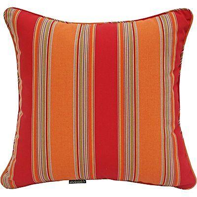 Simpkin Mango Stripe Outdoor Scatter Cushion