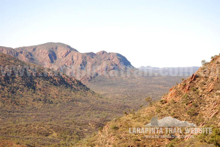 Awesome views of Section 3, Larapinta Trail. © Explorers Australia Pty Ltd 2013
