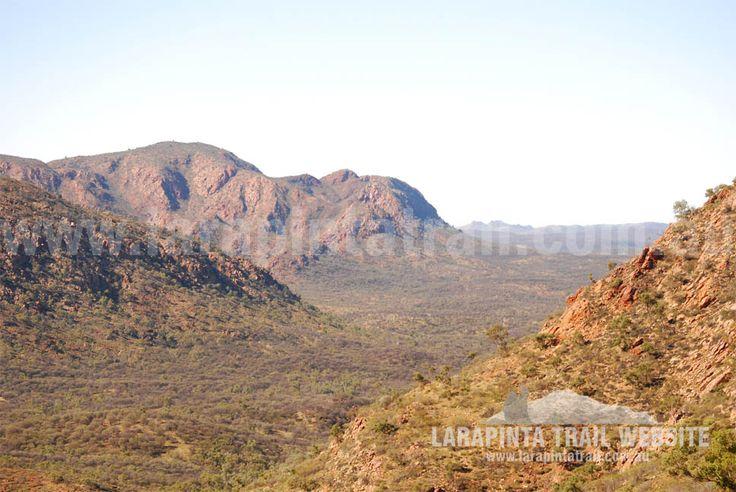 Awesome views of Section 3, Larapinta Trail. © Explorers Australia Pty Ltd 2013
