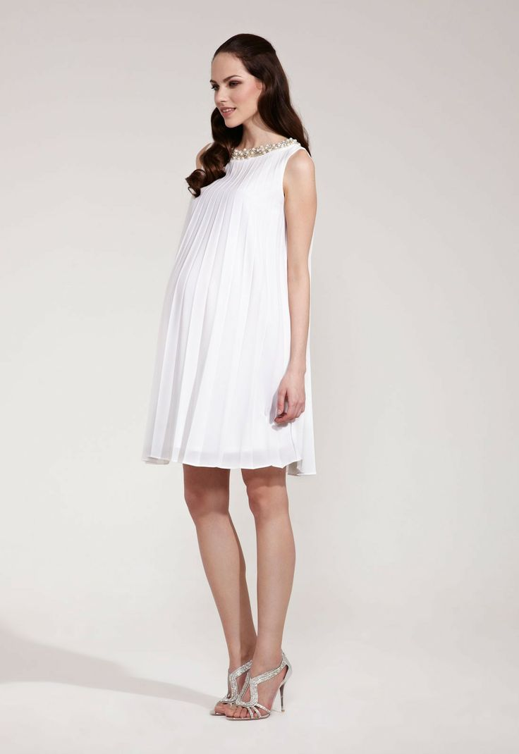 62 best clothing for the bump images on pinterest maternity elegant sunray pleated maternity dress in creamwendy rock a bye rosie ombrellifo Images