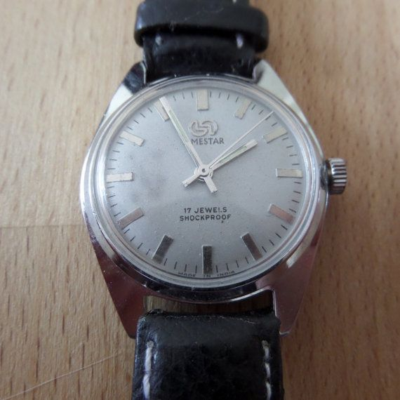 TIMESTAR - Guaranteed Genuine Vintage/Retro Indian/French Vintage Wristwatch. Sympathetically refurbished by watchmakers LORSA P62 Mvmt