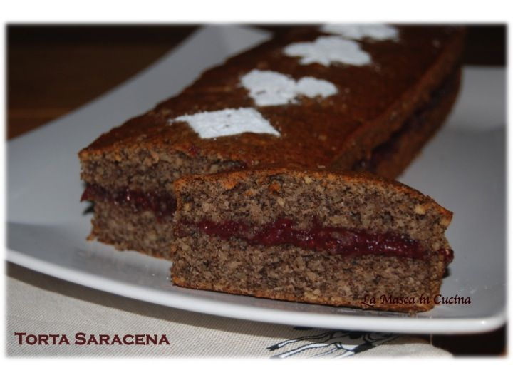 torta saracena, senza glutine