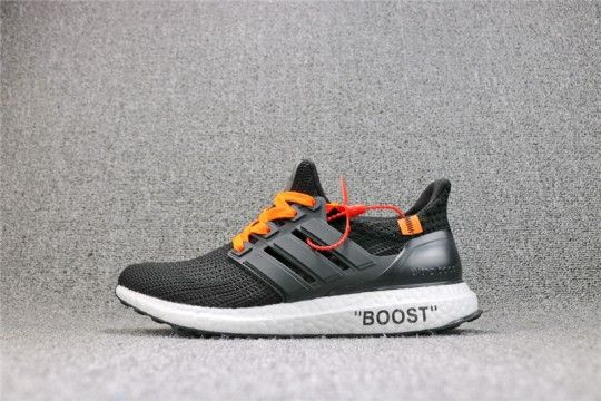c2ab1cc489f Off-White x Ultra Boost 4.0  Black  BA6166