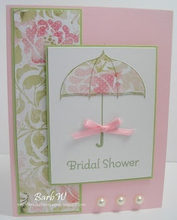 Lovely card - bridal shower, birthday, wedding, so many ideas...