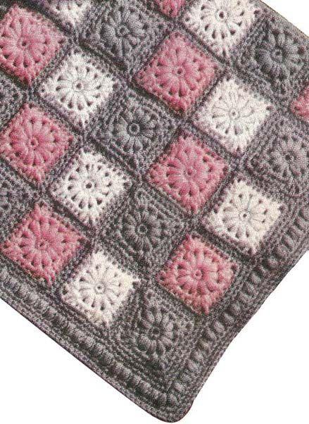 363 best Beautiful Crochet Blankets images on Pinterest | Crochet ...