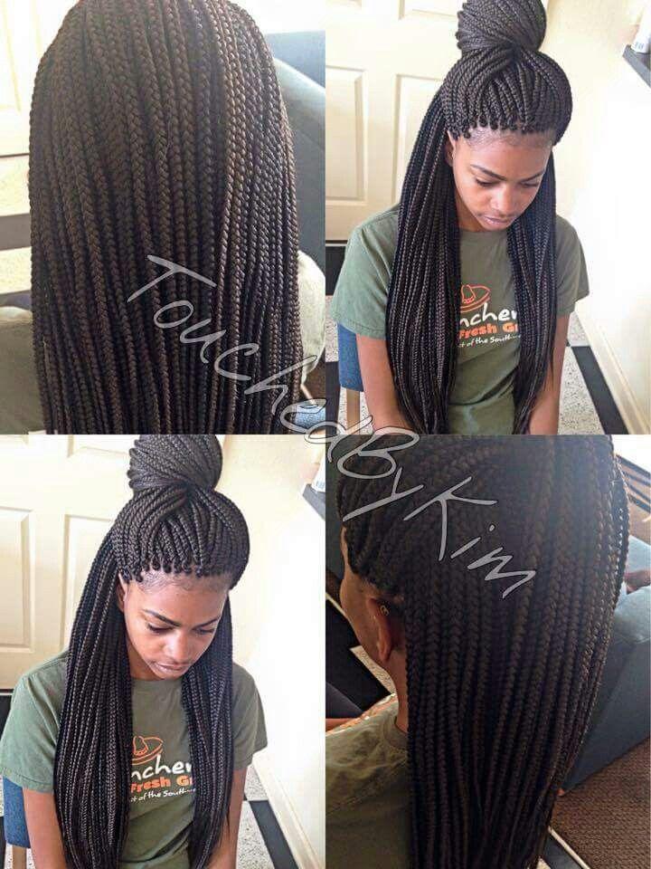 Lovely box braids