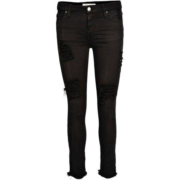 Iró Jarod Bucato hullet slim fit jeans (3.054.800 IDR) ❤ liked on Polyvore