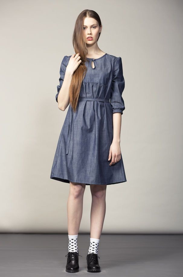 Denim dress.  http://shop.yalo.fi/product/1307/denim-dress