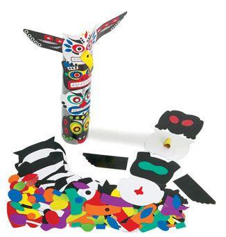 Totem Pole Craft Kit