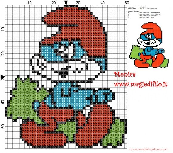17 Best Images About Smurfen On Pinterest Perler Bead