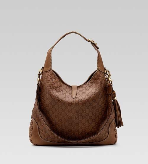 gucci large jackie shoulder bag | Gucci 'new jackie' large shoulder bag – light brown | All ...