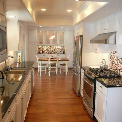 17 best images about galley eat in kitchens on pinterest for Decorating a galley kitchen ideas